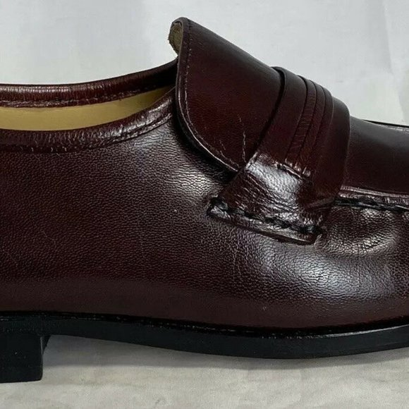 Bostonian Other - Bostonian Brown Leather Strap Loafers Men's 8